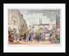 Bartholomew Fair, West Smithfield, City of London by Thomas Rowlandson