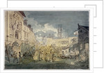 Bartholomew Fair, West Smithfield, City of London by John Nixon