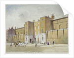 View of Whitecross Street Prison for debtors, London by Frederick Napoleon Shepherd