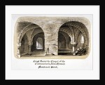 Crypt under the Chapel of the Clothworkers' Almshouses, Monkwell Street, City of London by Anonymous