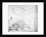 Map and table of Limehouse in the Parish of Stepney, London by
