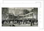 Tattersall's Horse Sale Yard at Hyde Park Corner, London, pre 1865 (1870) by Charles Mottram