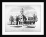 View of St James' Church, West Hackney, London by