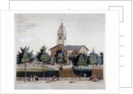 The Church of St John at Hackney, London by James Pollard