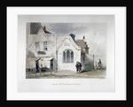 View of St Bartholomew's Chapel, Kingsland Road, Hackney, London by John Wykeham Archer