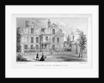 View of Shacklewell Manor House, Hackney, London by Dean and Munday