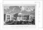 View of the London Orphan Asylum in Clapton, Hackney, London by WH Bond