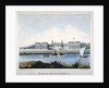 View of Greenwich Hospital from the Isle of Dogs, London by