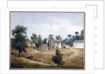 View of Kilbourn Wells spa, Belsize Road, Hampstead, London by Anonymous