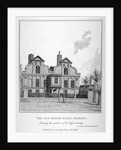 View of a manor house on Shacklewell Green, Hackney, London by John Thomas Smith