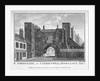 View of St John's Gate, Clerkenwell, London by