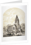 Church of St Stephen, Rosslyn Hill, Hampstead, London by Day & Son