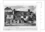 North view of the Old Pied Bull Inn, Essex Road, Islington, London by Francis Hawksworth