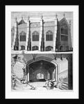 Lincoln's Inn Chapel, Holborn, London by George Vertue