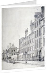John Philip Kemble's residence in Great Russell Street, Bloomsbury, London by Anonymous