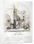 View of Clerks' Well pump in Ray Street, Finsbury, London by FC Price