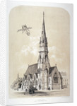 St Silas' Church, Penton Street, Finsbury, London by Day & Son