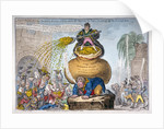 John Bull and the sinking fund by James Gillray