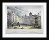 View of Northumberland House and Charing Cross, Westminster, London by A Legrand