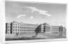 View of the new Bethlem Hospital, St George's Field, Southwark, London by Anonymous