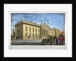North view of East India House, Leadenhall Street, City of London by