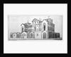 Middlesex Hospital, Mortimer Street, Marylebone, London by Edward Rooker