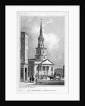 View from the west of St Leonard's Church, Shoreditch, London by Anonymous