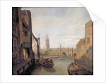 London Bridge from Pepper Alley Stairs by William Marlow