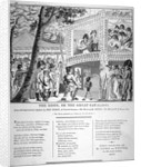 Musical performance at Vauxhall Gardens, Lambeth, London by
