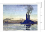 Lots Road Power Station - Evening by