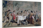 Banquet at Lucentio's house by Sir John Gilbert