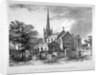 South-east view of St Mary's Church, Stoke Newington, London by JR Jobbins