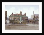 Green Gate Tavern at the junction of City Road and Bath Street, London by John Crowther