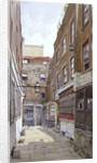 View of Apollo Court, Fleet Street, City of London by John Crowther