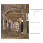Interior of St Bartholomew's Priory, Smithfield, City of London by John Crowther