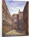 Hall and library, Sion College, London Wall, City of London by John Crowther