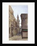 Garlick Hill, City of London by John Crowther