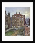 House on Austin Friars Street, City of London by John Crowther