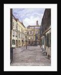 View of Johnson's Court, Fleet Street, London by John Crowther