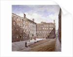 View of Brick Court, Middle Temple, London by