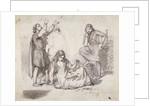 A Medieval Scene by Fred Walker