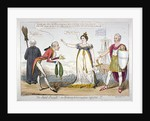 The secret insult! or bribery & corruption rejected!!! by Isaac Robert Cruikshank