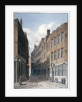 View of Bucklersbury, City of London by Anonymous