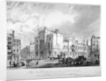 View of the City of London School, Honey Lane Market, Milk Street, City of London by
