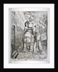 Carlo Khan's triumphal entry into Leadenhall Street by James Sayers