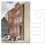 View of the Vicar General's Office, Bell Yard, Knightrider Street, City of London by Frederick Napoleon Shepherd