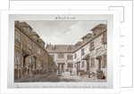 View of Queen's Court, Upper Ground Street, Southwark, London by John Chessell Buckler