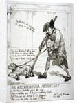 The Westminster mendicant by Thomas Rowlandson