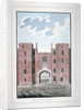 View of Lincoln's Inn Gateway, Holborn, London by Anonymous