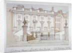 View of Lindsey House, Lincoln's Inn Fields, Holborn, London by